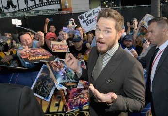 HOLLYWOOD, CA - APRIL 23: Actor Chris Pratt attends the Los Angeles Global Premiere for Marvel Studios' Avengers: Infinity War on April 23, 2018 in Hollywood, California. (Photo by Charley Gallay/Getty Images for Disney) *** Local Caption *** Chris Pratt
