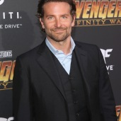 HOLLYWOOD, CA - APRIL 23: Actor Bradley Cooper attends the Los Angeles Global Premiere for Marvel Studios' Avengers: Infinity War on April 23, 2018 in Hollywood, California. (Photo by Jesse Grant/Getty Images for Disney) *** Local Caption *** Bradley Cooper