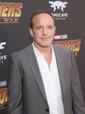 HOLLYWOOD, CA - APRIL 23: Actor Clark Gregg attends the Los Angeles Global Premiere for Marvel Studios' Avengers: Infinity War on April 23, 2018 in Hollywood, California. (Photo by Jesse Grant/Getty Images for Disney) *** Local Caption *** Clark Gregg