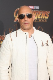 HOLLYWOOD, CA - APRIL 23: Actor Vin Diesel attends the Los Angeles Global Premiere for Marvel Studios' Avengers: Infinity War on April 23, 2018 in Hollywood, California. (Photo by Jesse Grant/Getty Images for Disney) *** Local Caption *** Vin Diesel
