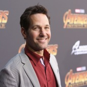 HOLLYWOOD, CA - APRIL 23: Actor Paul Rudd attends the Los Angeles Global Premiere for Marvel Studios' Avengers: Infinity War on April 23, 2018 in Hollywood, California. (Photo by Jesse Grant/Getty Images for Disney) *** Local Caption *** Paul Rudd