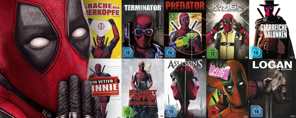deadpool collage