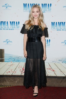 Amanda Seyfried bei der Bühnenpräsentation im Passage Kino MAMMA MIA! HERE WE GO AGAIN in Hamburg am 12.07.2018 © UNIVERSAL / Andre Mischke