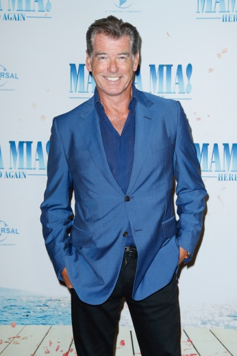Pierce Brosnan bei der Bühnenpräsentation im Passage Kino MAMMA MIA! HERE WE GO AGAIN in Hamburg am 12.07.2018 © UNIVERSAL / Andre Mischke