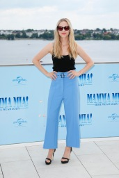 Amanda Seyfried Photocall MAMMA MIA! HERE WE GO AGAIN in Hamburg am 12.07.2018 © UNIVERSAL / Andre Mischke