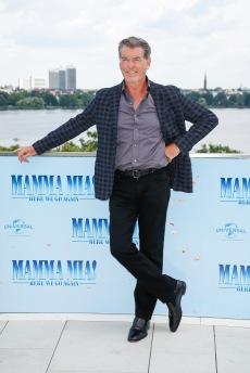 Pierce Brosnan Photocall MAMMA MIA! HERE WE GO AGAIN in Hamburg am 12.07.2018 © UNIVERSAL / Andre Mischke