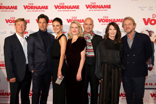 'Der Vorname' German Premiere In Cologne