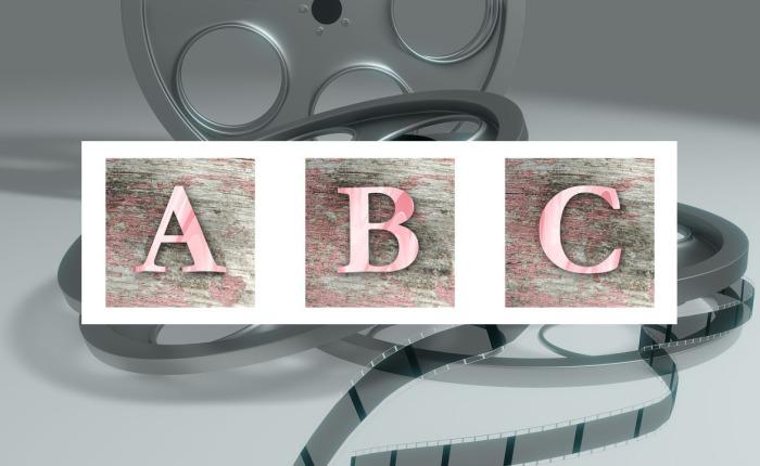 Das nicht ganz so ernst gemeinte ABC einesFilmnerd