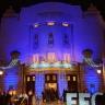 Das Staatstheater während der großen Eröffnung von außen.