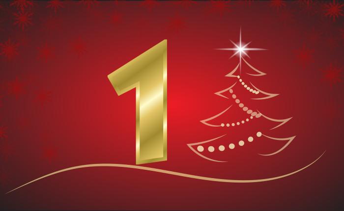 Der Weihnachtskalender: Tür Nr.1
