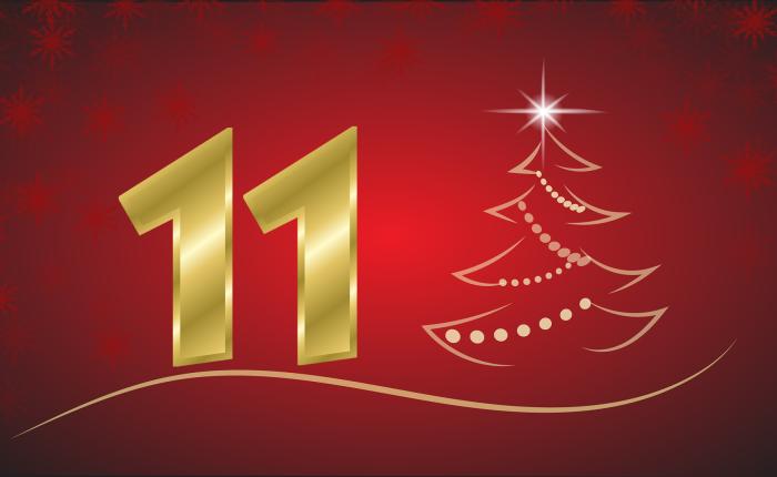 Der Weihnachtskalender: Tür Nr.11