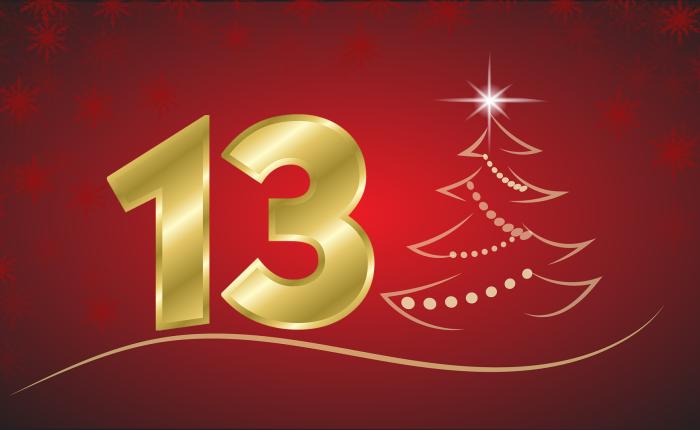Der Weihnachtskalender: Tür Nr.13