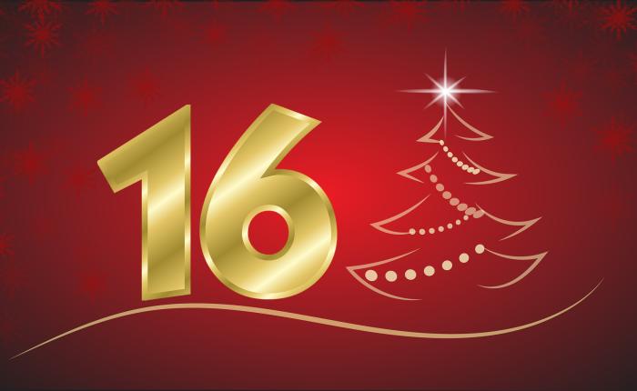 Der Weihnachtskalender: Tür Nr.16