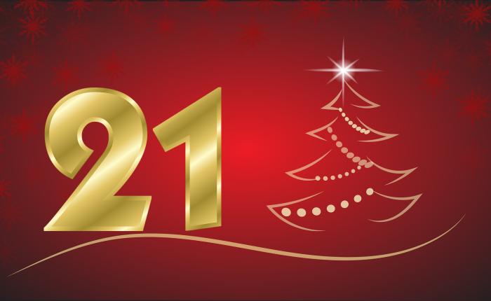 Der Weihnachtskalender: Tür Nr.21