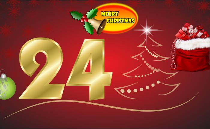 Der Weihnachtskalender: Tür Nr.24