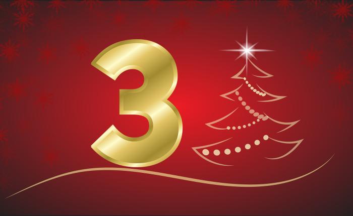 Der Weihnachtskalender: Tür Nr.3