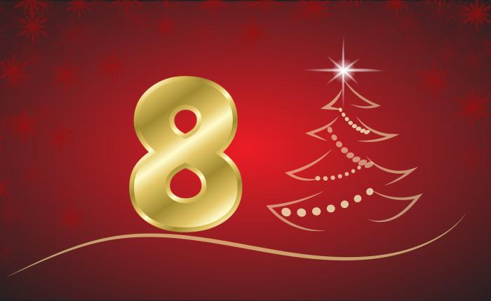 Der Weihnachtskalender: Tür Nr.8