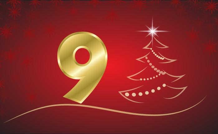 Der Weihnachtskalender: Tür Nr.9