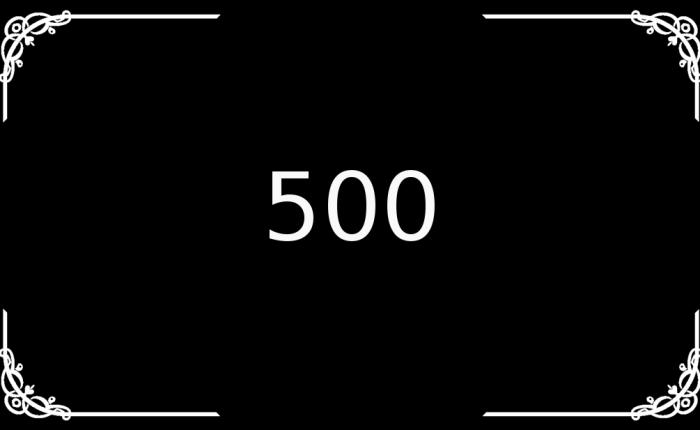 """Filmfranchise im Fokus oder einfach das """"500 AboSpecial"""""""